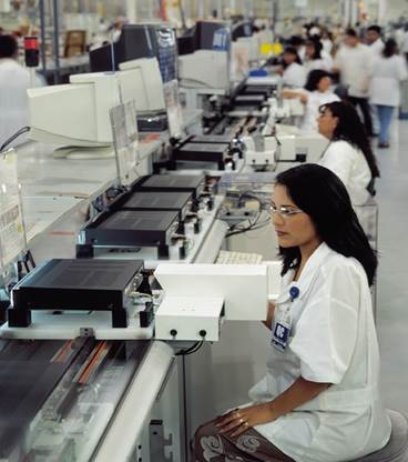 manufacturing in Mexico electonic production
