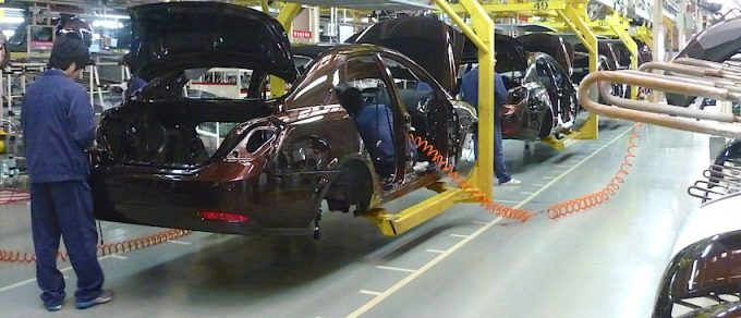 2014 Mexican automotive production rose to record highs