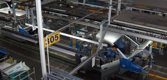 Efforts made to integrate domestic firms into the maquiladora supply chain promote economic growth
