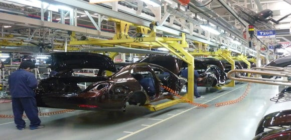 Mexican manufacturing locations increasingly chosen over Southern US states by auto makers
