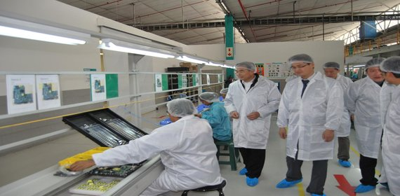 Chinese electronics manufacturer doubling Mexico investment