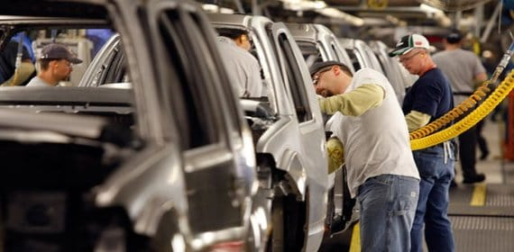 Mexican automotive manufacturing sector is closing in on other NAFTA countries