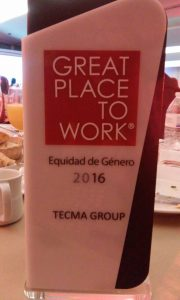 Tecma Gender Equality Award