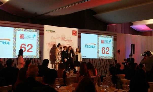 Tecma Recognized by Great Place to Work Institute for Gender Equality