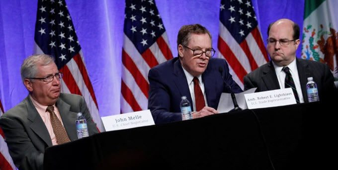 NAFTA Renegotiations Underway in Washington