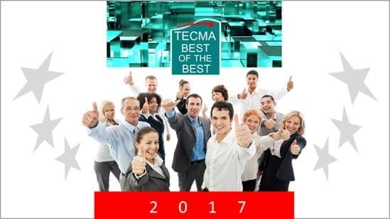 TECMA Best of The Best Award 2017