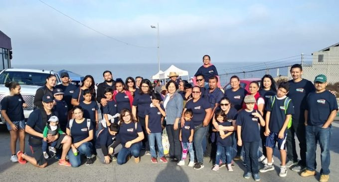 Tecma Team Helps Clear 4.5 Tons of Garbage from Tijuana Beach