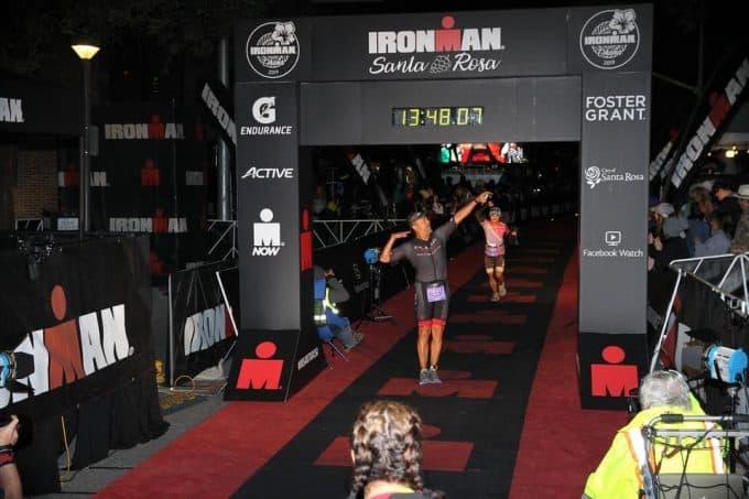Triatlón Ironman,Santa Rosa 2019
