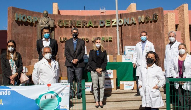 The Tecma Group of Companies stands in solidarity with Mexican medical institutions.